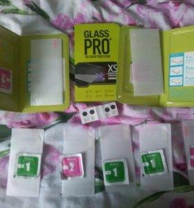 Защитные стекла для айфон 5