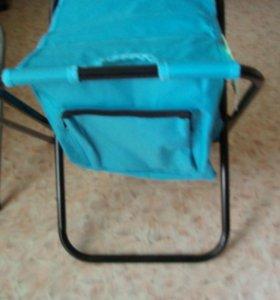 Новый стул с сумкой для охоты,рыбалки,кемпинга