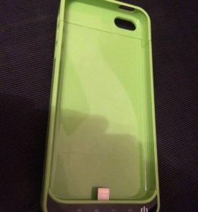 Чехол аккумулятор для iPhone  5 5s