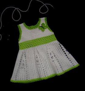 Платье 100% хлопок, новое