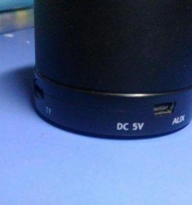 Bluetooth колонка(вместе с зарядным устройством)