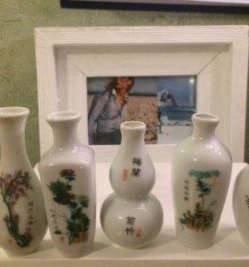 Ваза/набор вазочек/подарок/сувенир