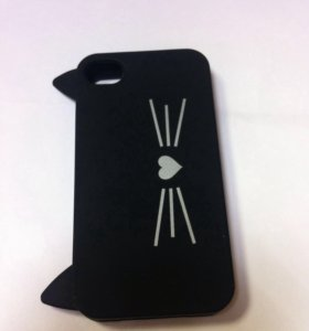 Силиконовый чехол на iPhone 4/4s