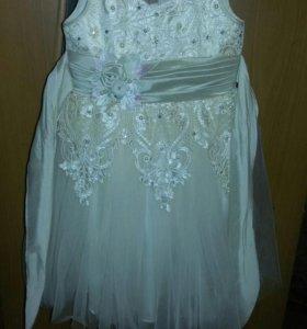 Новогоднее платье на 8 лет (Турция)