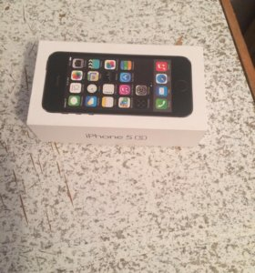 Телефон iPhone 5s-16gb Silver Black