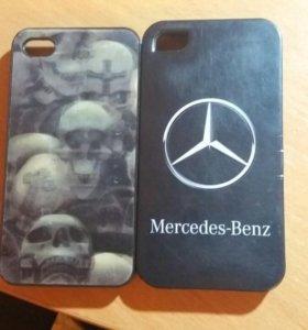 2 iphone 4s и чехлы