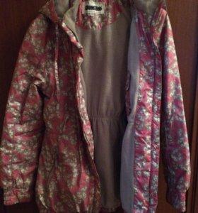 Куртка дет рост 146