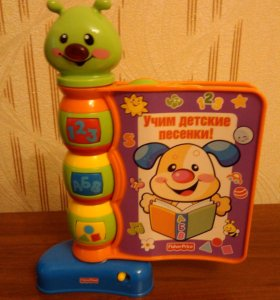 Продам книжку Fisher-price