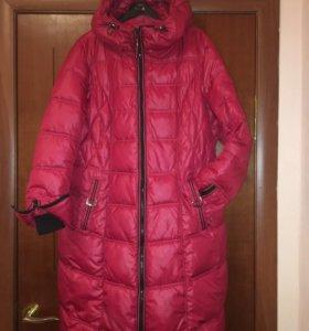 Женское зимнее пальто 52р.