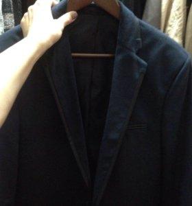 Новый итальянский пиджак мужской