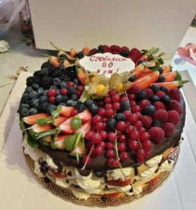 Торт ягодный Мильфей