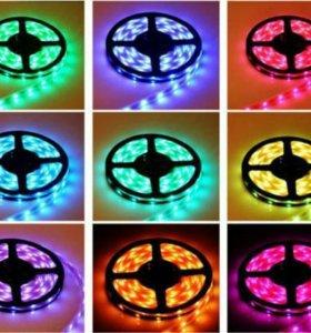 RGB LED Светодиодная лента мульти-цветная