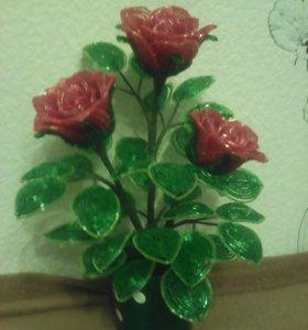 Розы из рубки