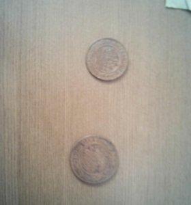 Монеты 19 века