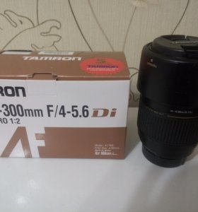 Объектив Tamron af70-300mm f/4-5.6 ld macro 1:2