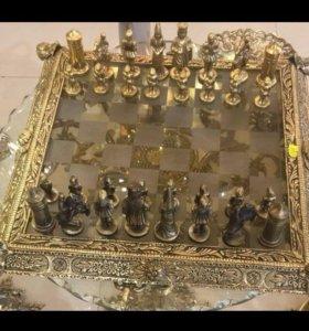 Шахматы бронзовые