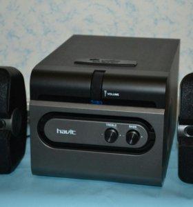 мультимедийная акустическая система Havit 2.1