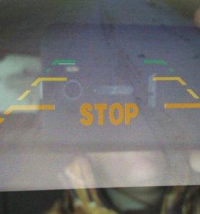 Зеркало регистратор + камера заднего вида.