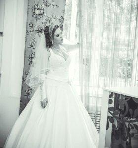 Свадебное платье 46, 48, 50