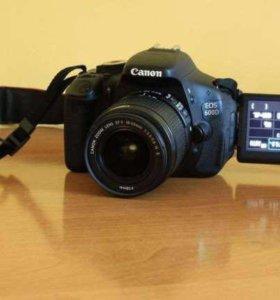 Зеркалка Фотоаппарат Canon 600 d