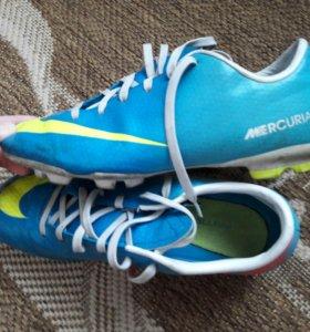 Бутсы Nike Mercurial 4, 38 размер.