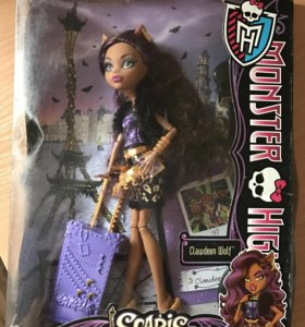 Новая Коллекционная кукла monster high
