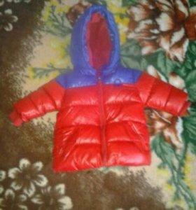 Новая Куртка на синтипоме