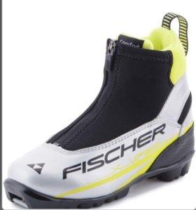 """Б/у лыжные ботинки """"FISCHER"""""""