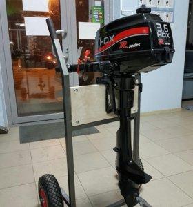 Лодочный мотор HDX 3.6л.с.