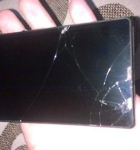 Sony Xperia Z чёрный (разбитый экран)
