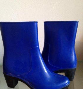 Сапоги женские в каблуках