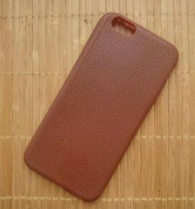 Кожаный чехол на iphone 6 и 6s
