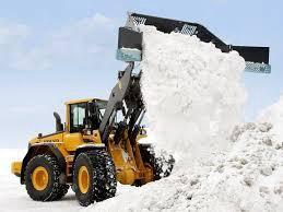 Чистка территорий от снега
