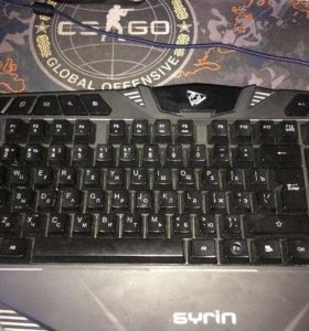 Клавиатура :qcyber syrin торг