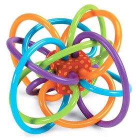 Развивающая игрушка-грызунок Manhattan Toy