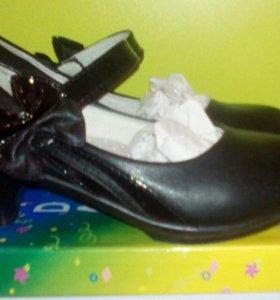 Туфли для девочки р.33