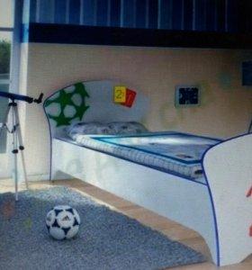 Кровать Соната кисти футбол. Новая, в упаковке.