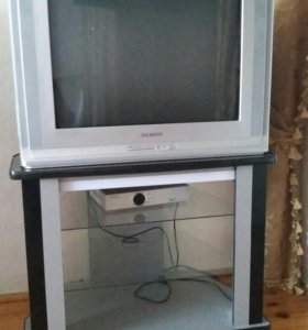 Телевизор самсунг и подставка