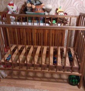 Кровать деревянная Можга