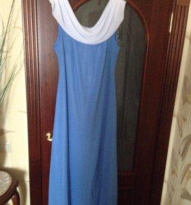 Вечернее платье. 54-56