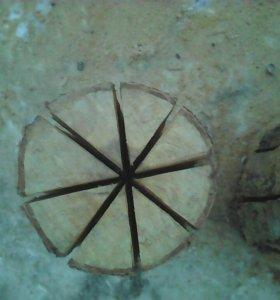 Чурка для пикника, заменяет костер,походную печку.