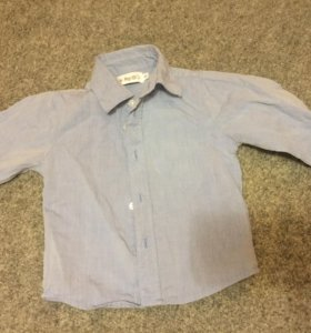 Рубашка с длинным рукавом 80р