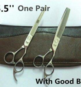 Парикмахерские ножницы Kasho, цвет серебристый 5,5