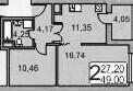 Срочно продам 1-к квартиру 49 кв.м. В ЖК Вертикаль