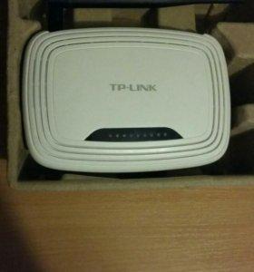 1)wi-fi роутер  tp-link модель TL-WR741-ND