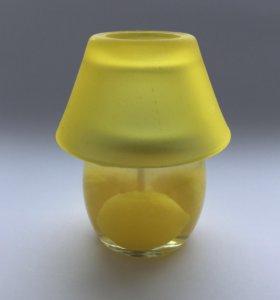 Свеча гелевая с ароматом лимона