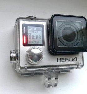 GO PRO HERO 4 SILVER (в отличном состоянии)