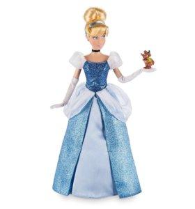 Кукла Дисней Золушка с мышонком Гансом