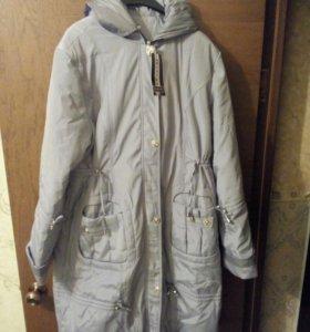 Пальто демисезонное женское  54-56 размера