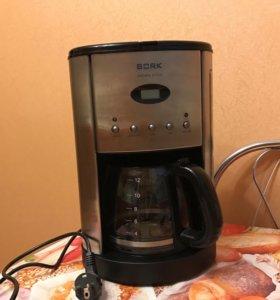 Кофеварка Bork aroma style CM DEP 9416 SI